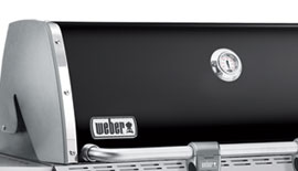 weber genesis e320 propane gas grill lid