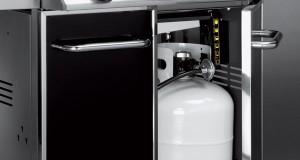weber genesis e 310 gas grill cylinder cupboard