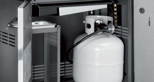 weber genesis s310 gas grill cylinder cupboard