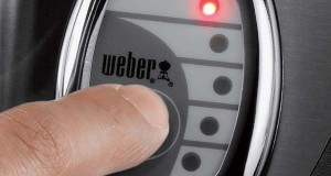 weber summit s 670 LED fuel gauge