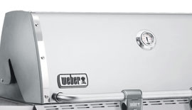 weber summit s 670 hood and thermometer