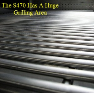 S470 Large Grilling Surface